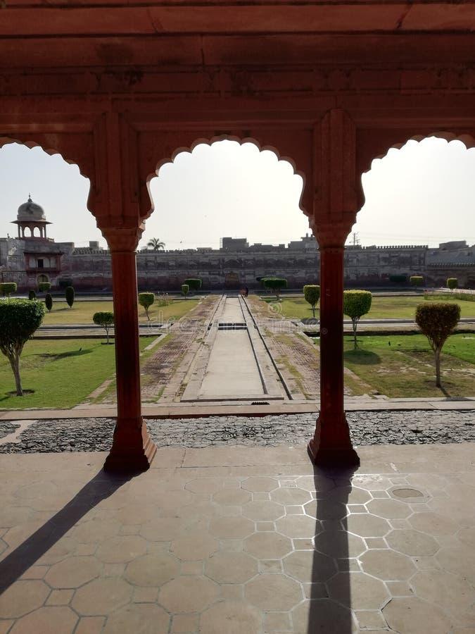 Shalamar bagh, Lahore, Pakistan royaltyfri foto