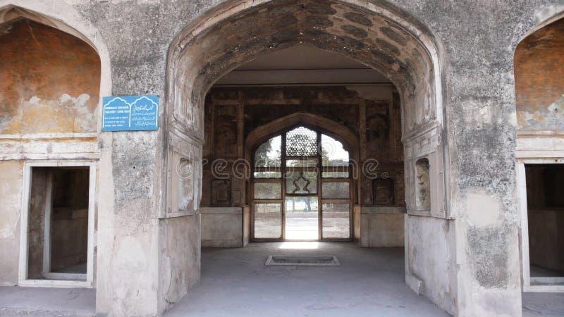 shalimar的庭院 免版税库存照片