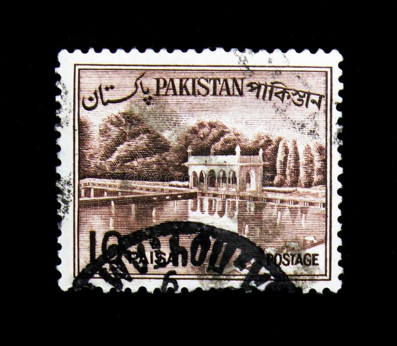 Shalimar Gardens, Country Views serie, circa 1963 royalty free stock photography
