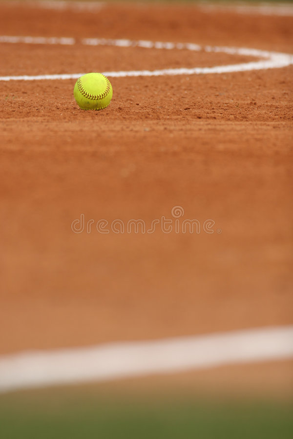 Shallow dof softball field stock image. Image of softball ...