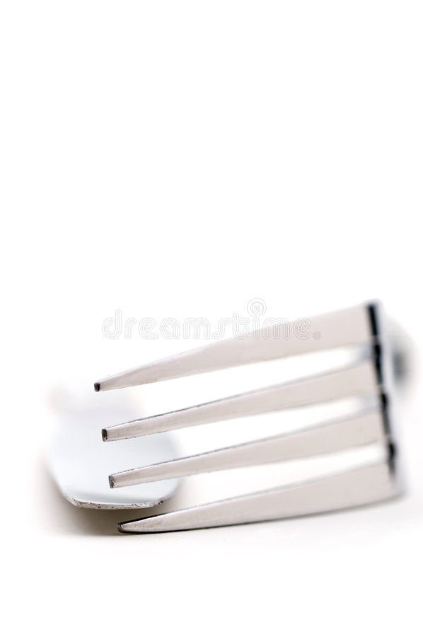Download Shallow Focus Closeup Of Silverware Stock Photo - Image: 7489834