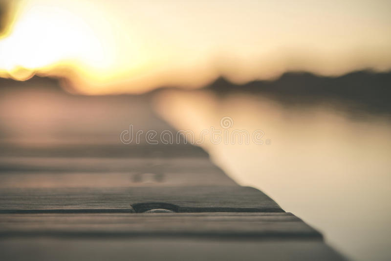 Shallow Focus Of Gray Wooden Dock Free Public Domain Cc0 Image