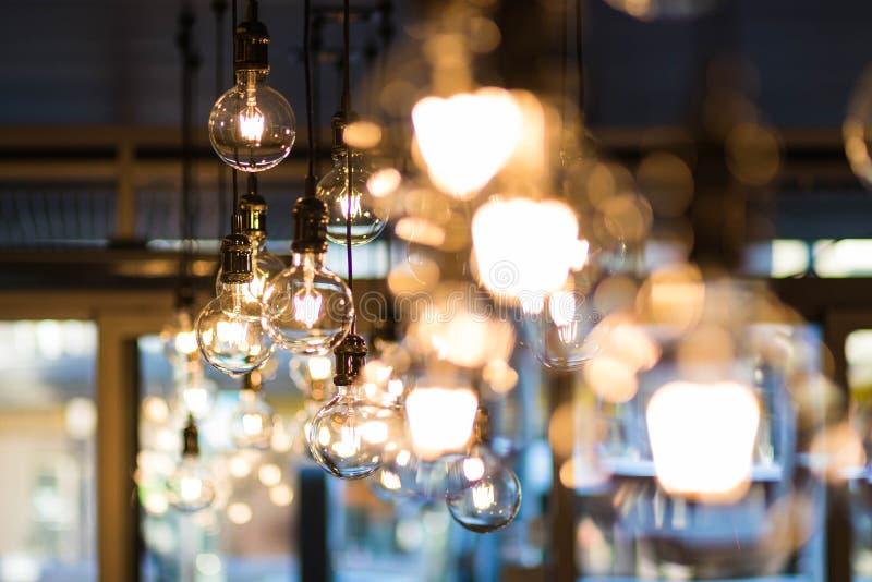 Shallow Focus Photograph of Pendant Lamp royalty free stock photo