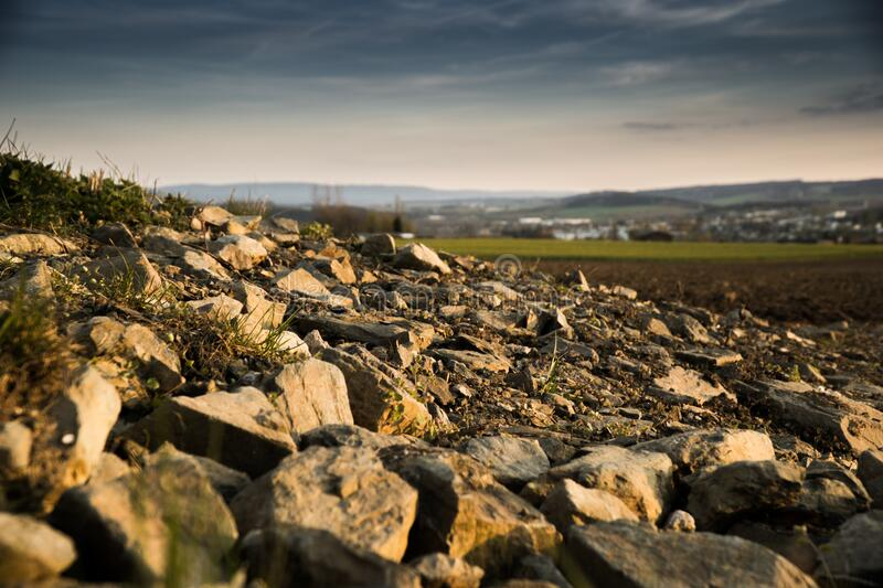 Shallow Focus Photography of Rocks stock photography