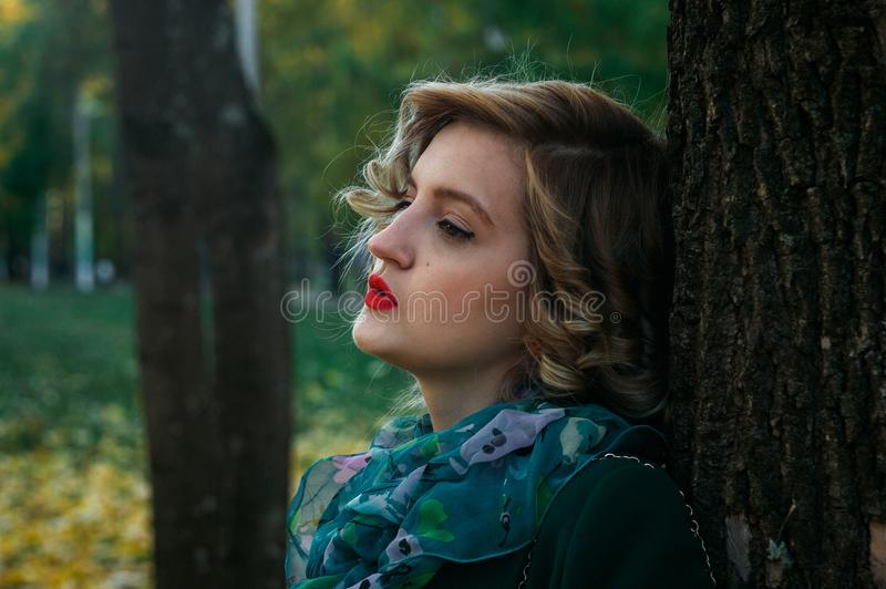 Shallow Focus Photography of Woman royalty free stock photography