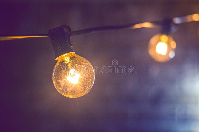 Shallow Focus Photography Of Yellow String Light Free Public Domain Cc0 Image