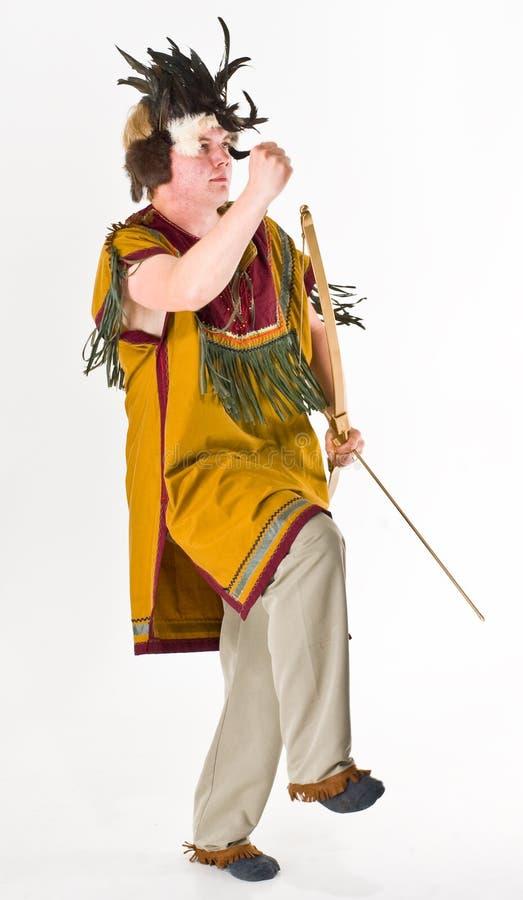 shaman royaltyfri bild