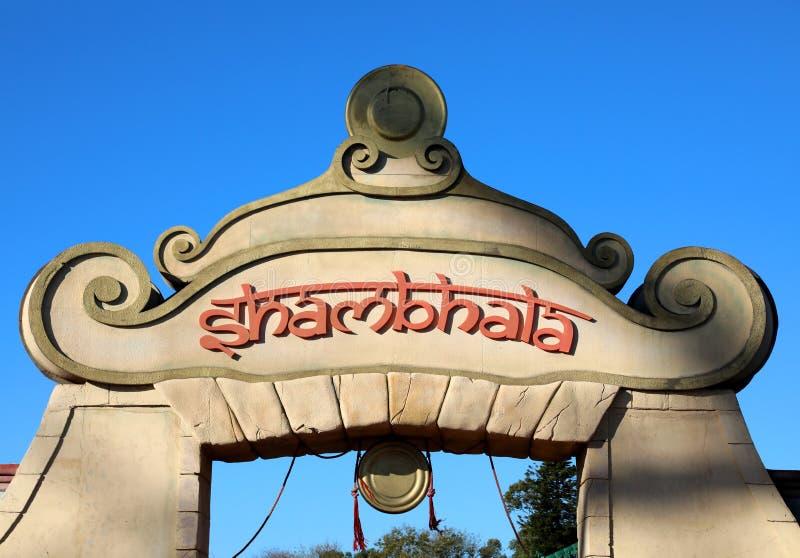 Shambhala zdjęcia royalty free