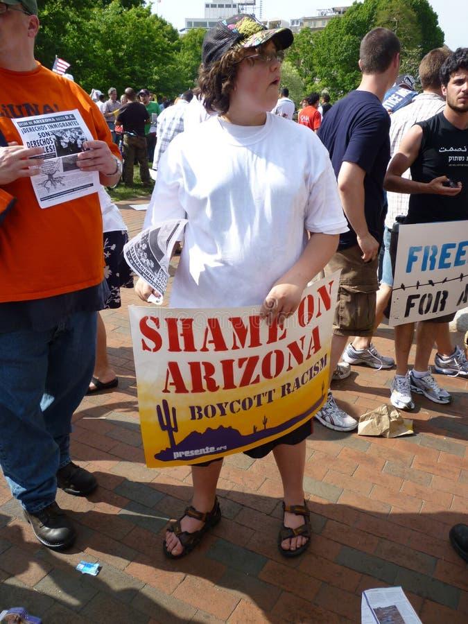 Download Shameful Arizona Law editorial photography. Image of washington - 14102042
