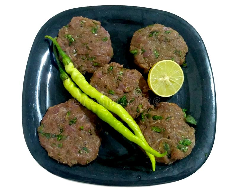Shami Kebab Made From Meat /Mutton foto de stock royalty free
