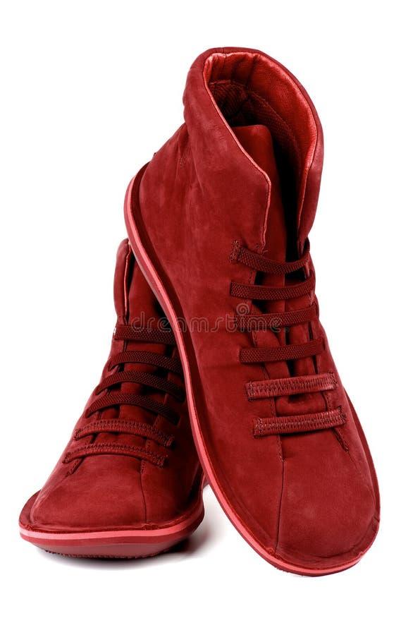 Shammy Boots image libre de droits
