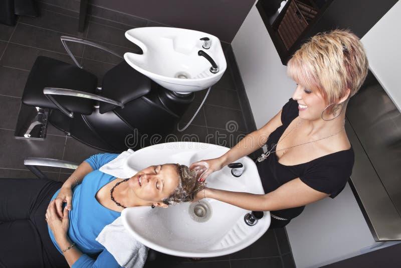 Shampoo stock afbeelding