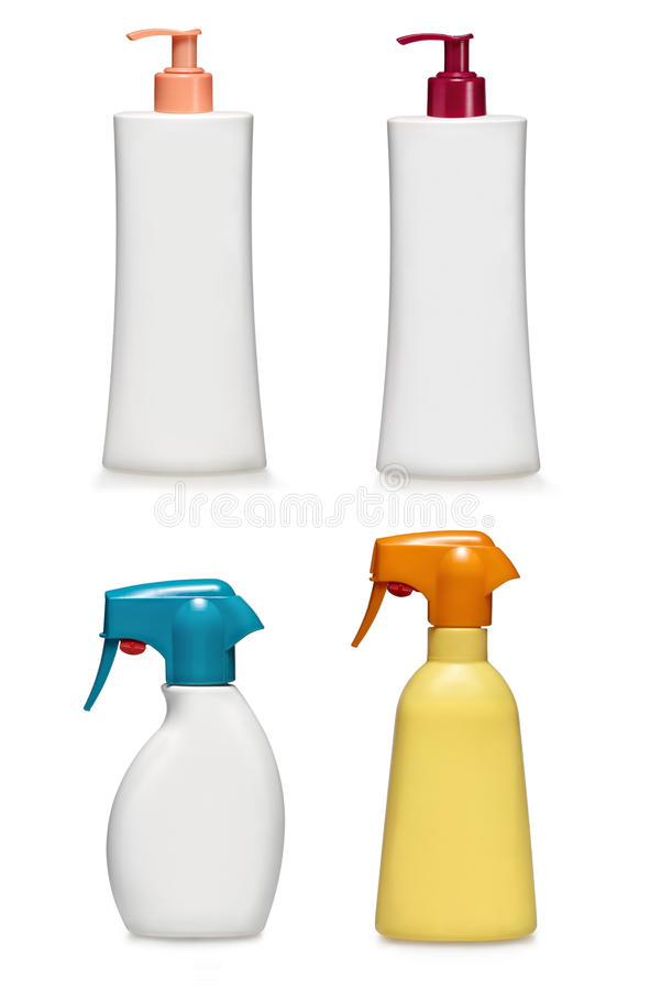 Download Shampoo And Bath Gel Conatiners.Generic Type Royalty Free Stock Photo - Image: 16941455