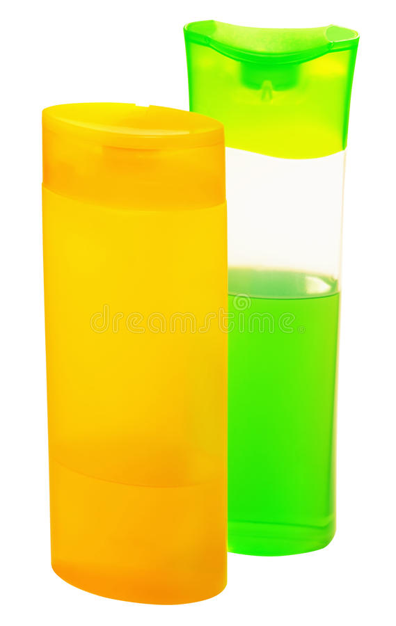 Download Shampoo In Plastic Containers Stock Photo - Image: 22208404