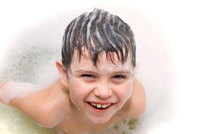 Shampooing image stock