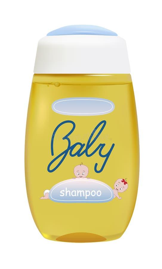 Shampooing de bébé illustration libre de droits