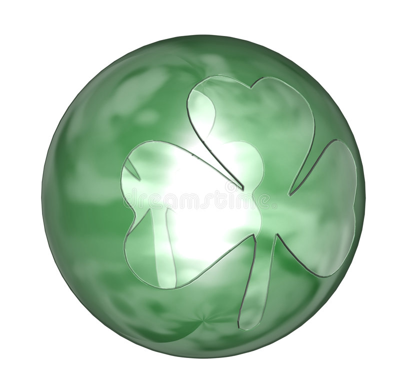 shamrock шарика иллюстрация штока