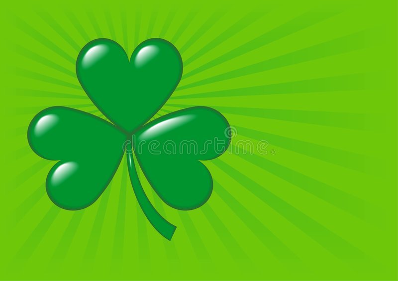 Shamrock - 2 stock illustration