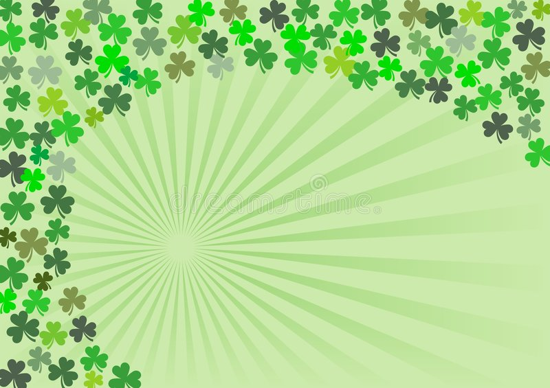 Shamrock - 4 stock illustration