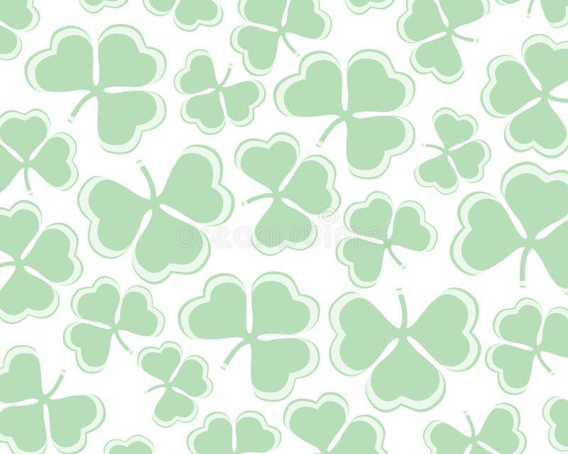 Shamrock / clover background stock image