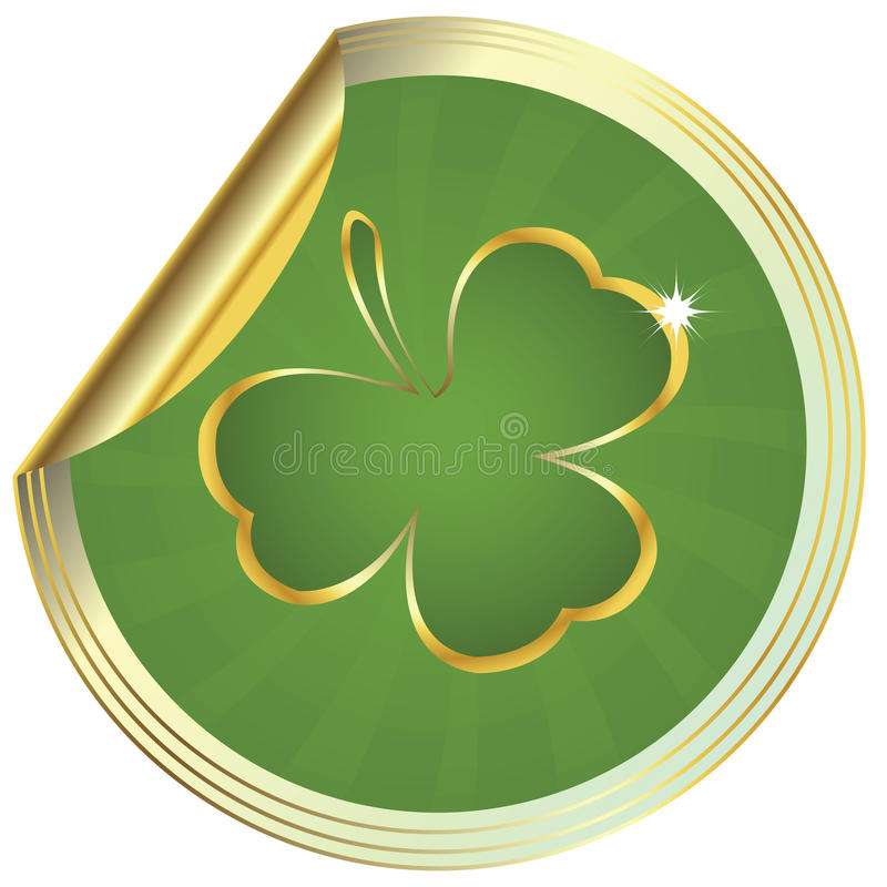 Download Shamrock design stock vector. Illustration of abstract - 13216750