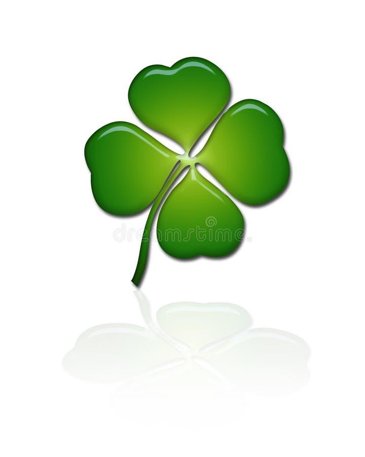 Shamrock / Four leave clover stock images