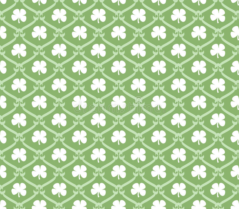 Shamrock seamless wallpaper stock illustration illustration of download shamrock seamless wallpaper stock illustration illustration of background lucky 12405704 voltagebd Image collections