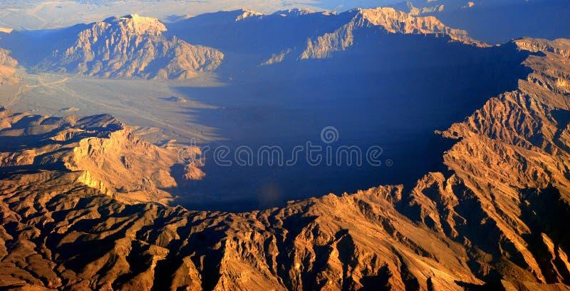 Shams Mountain royalty free stock photo