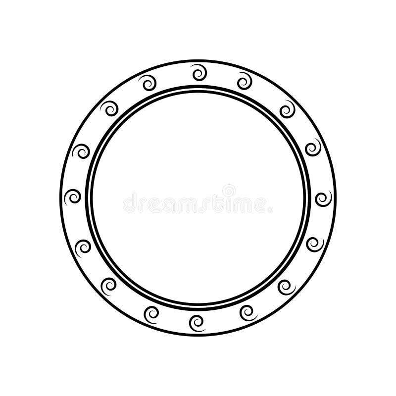 shamshire pictogram Element van India voor mobiel concept en webtoepassingenpictogram Overzicht, dun lijnpictogram voor websiteon royalty-vrije illustratie