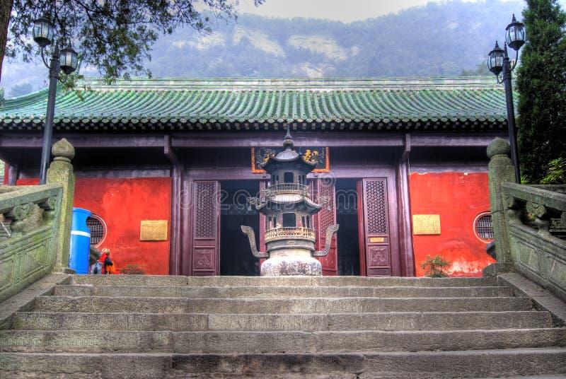 shan ναός wudang στοκ φωτογραφία με δικαίωμα ελεύθερης χρήσης