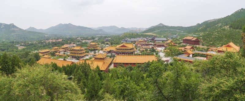 Shandong qingzhou Longxing Temple in China royalty-vrije stock foto