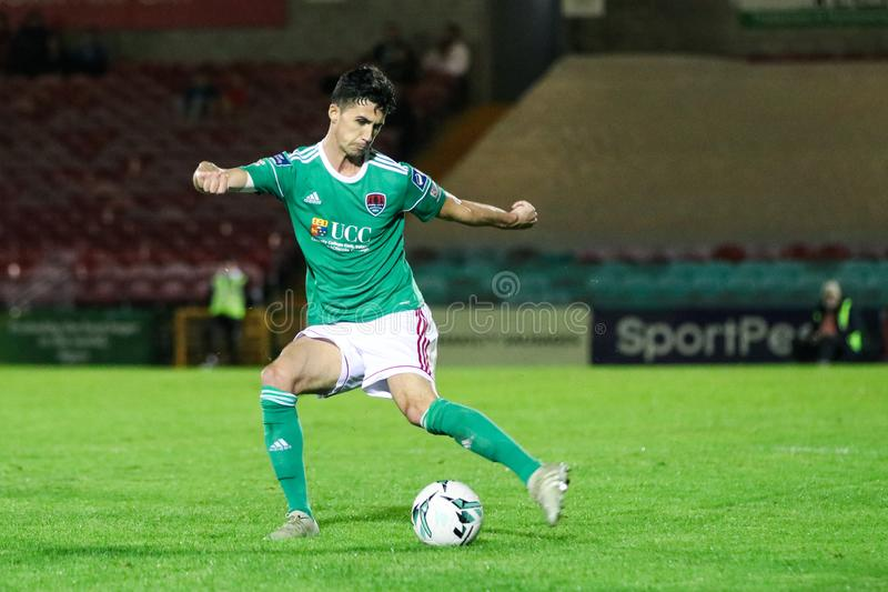 Shane Griffin at the League of Ireland Premier Division match: Cork City FC vs Waterford FC. September 2nd, 2019, Cork, Ireland - Shane Griffin at the League of stock images