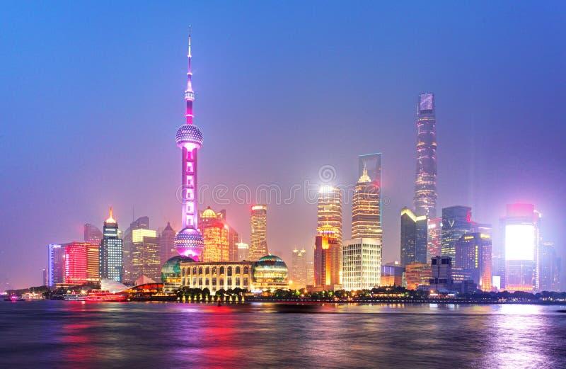 Shangahi地平线,中国 免版税库存照片