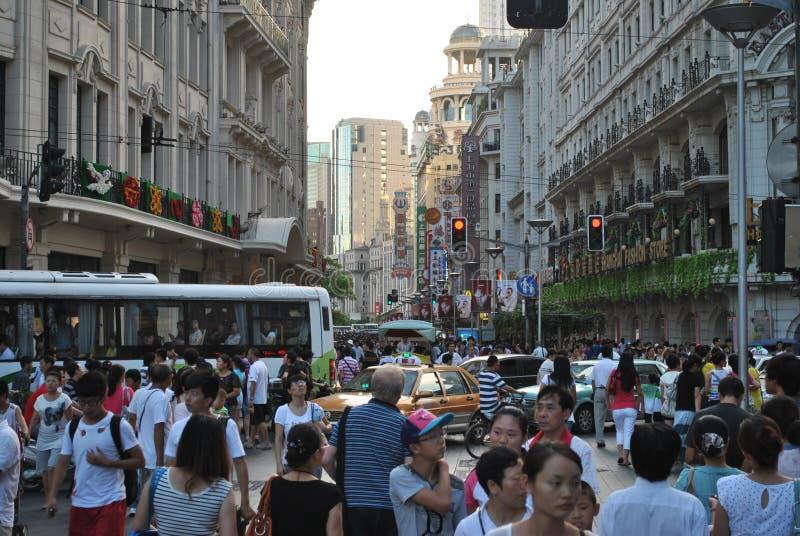 Shangai stock photo