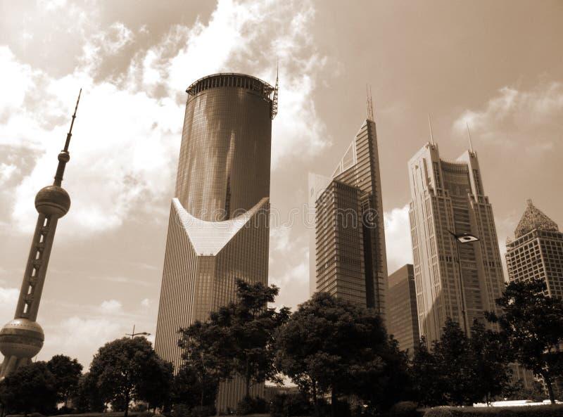 Download Shangai céntrica imagen de archivo. Imagen de calle, muestra - 1299367