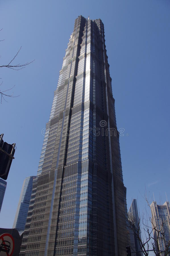 Shangai Jin Mao Tower stock foto