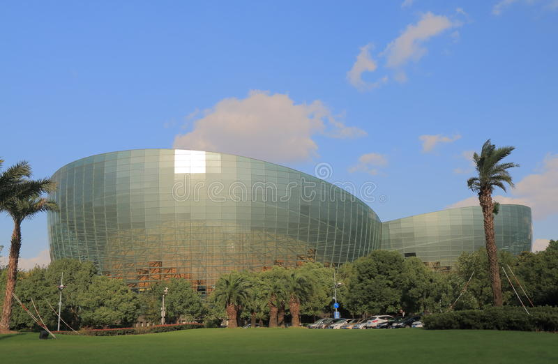 Shangai Oriental Art Center China foto de archivo libre de regalías
