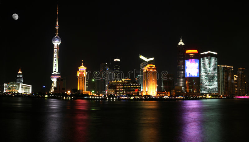 Shangai Pudong foto de archivo libre de regalías