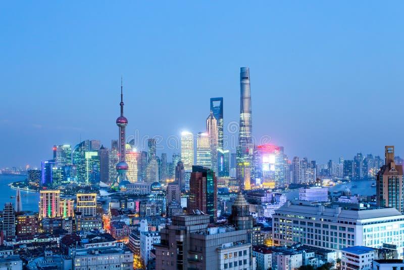 shanghai royalty-vrije stock foto's