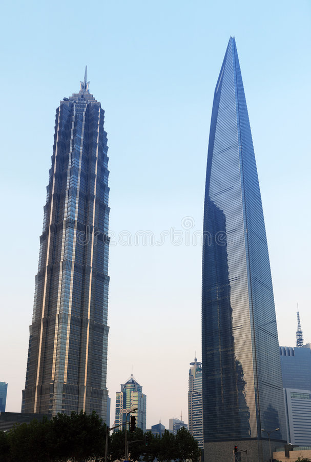 Download Shanghai stock photo. Image of skyscraper, glass, high - 7357468