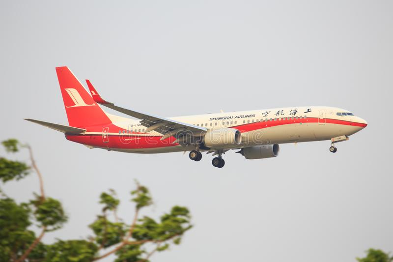 Shanghai Airlines stock images