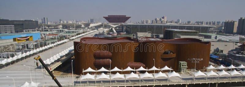 Shanghai-Ausstellung 2010: Ausralia Pavillion lizenzfreie stockfotografie