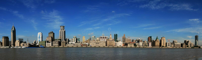 Shanghai a barreira imagens de stock royalty free