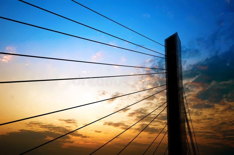 Download Shanghai Bridge stock photo. Image of design, civil, architectural - 24292856