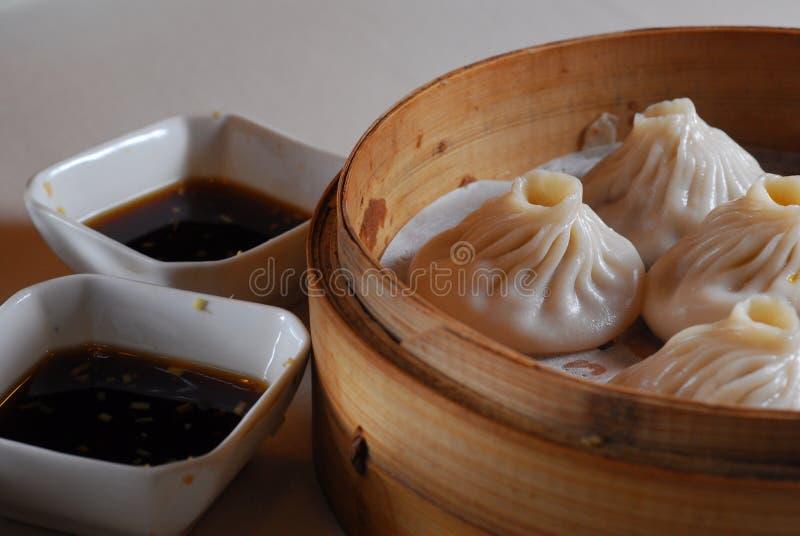 Shanghai Bun stock photo