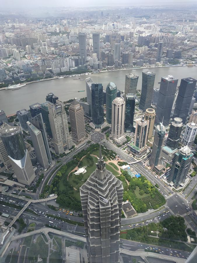 Shanghai Bund immagine stock