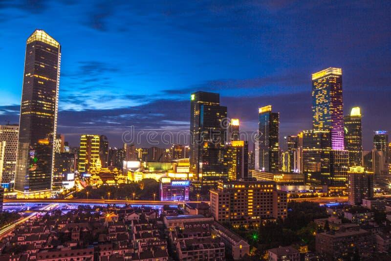 Download Shanghai CBD immagine editoriale. Immagine di tempiale - 55362250