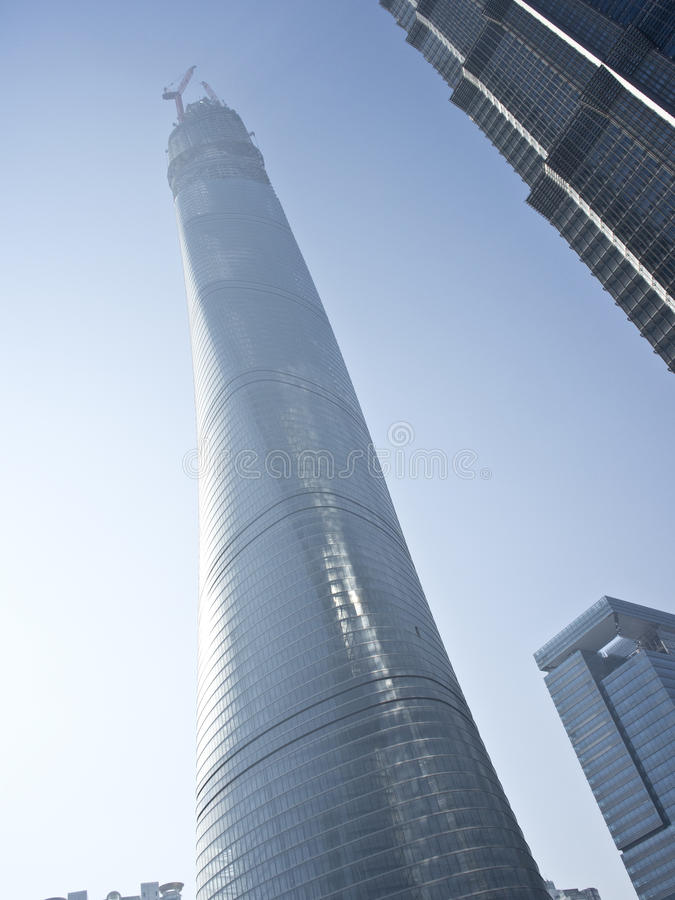 Download Shanghai Center Tower Royalty Free Stock Image - Image: 36343376