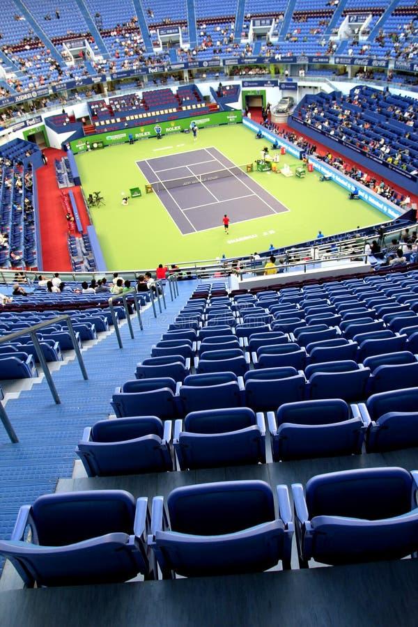 shanghai centrum tenis zdjęcia royalty free