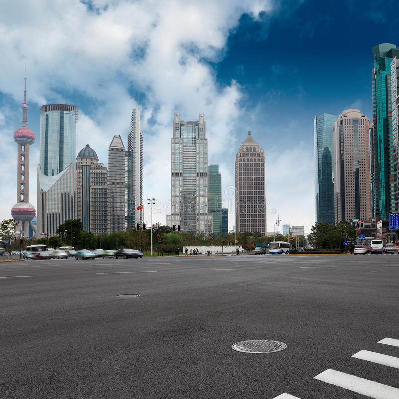 Download Shanghai Century Avenue Royalty Free Stock Photo - Image: 22450805